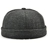 Melii Plain Kufi Hats Skull Cap Warm Winter Beanie For Men Women