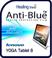 Healingshield スキンシール液晶保護フィルム Eye Protection Anti UV Blue Ray Film for Lenovo Tablet Yoga Tablet 8 [Front 1pc]