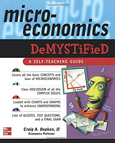 list 01 micro economy If asked to compile a list of economists' mistakes over the last decade, i would not know where to start somewhere near the top would be failure to predict the global financial crisis.