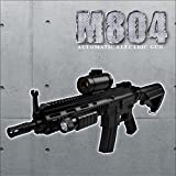 高性能1/1スケールアサルトライフル 電動ガンM4 CQBバージョンドットサイト搭載モデルM804エアガン