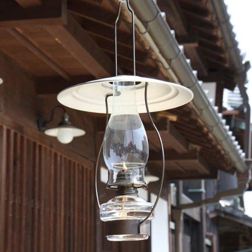 民芸調 レトロ(明治 昭和) 山小屋ランプ 吊りチェーン・...
