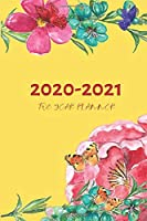 2 Year Planner 2020-2021 Yellow Two Years Monthly Schedule Organizer With Holidays: Pocket Mini Academic 24 Months Calendar; Slim Agenda Planner; Small Goals Journal & Purse Diary Notebook With Inspirational Quotes