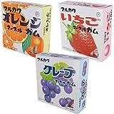 【Amazon.co.jp限定】 丸川製菓 ビッグサイズガム アソートパック 3種 計3個入
