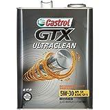 カストロール エンジンオイル GTX ULTRACLEAN (旧DC-TURBO) 5W-30 4L 4輪ガソリン車専用部分合成油 SN/GF-5 Castrol