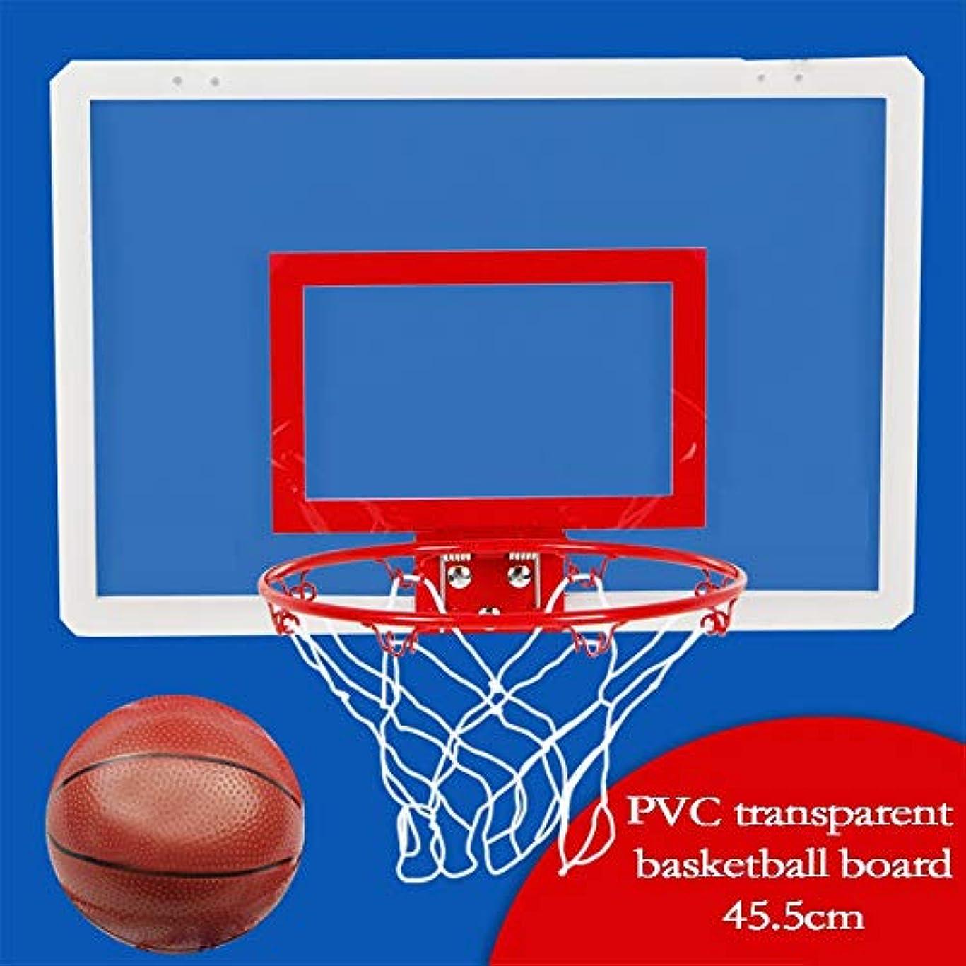 ストライプ有能なパラメータ子供用 ミニバスケットボール 昇降バスケットボールスタンドは、屋内と屋外の子供用玩具のための誕生日プレゼントのために使用されているウォールマウント 室内 屋外用 (色 : 赤, Size : One size)