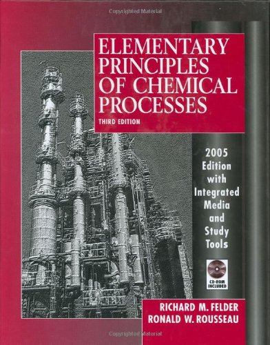 Elementary Principles of Chemical Processesの詳細を見る