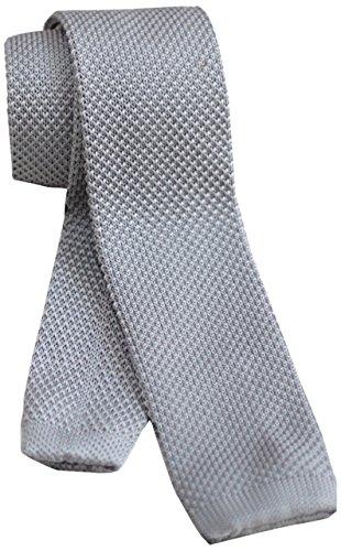 [ダブリューアンドエム] W&M ニットタイ ナロータイ ニット ネクタイ ビジネス 24色展開 洗濯可能 無地 ソリッド