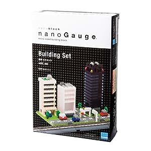 ナノゲージ 情景ビルセット nGSC_002