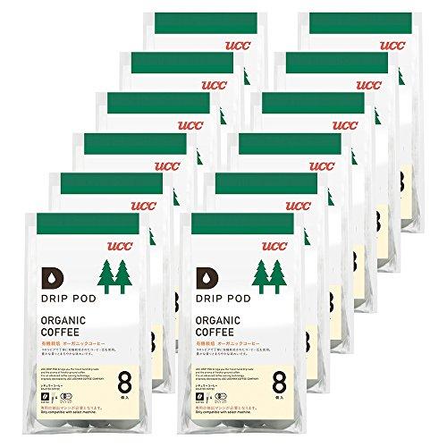 DRIP-POD 有機栽培オーガニックコーヒー 8P×12個