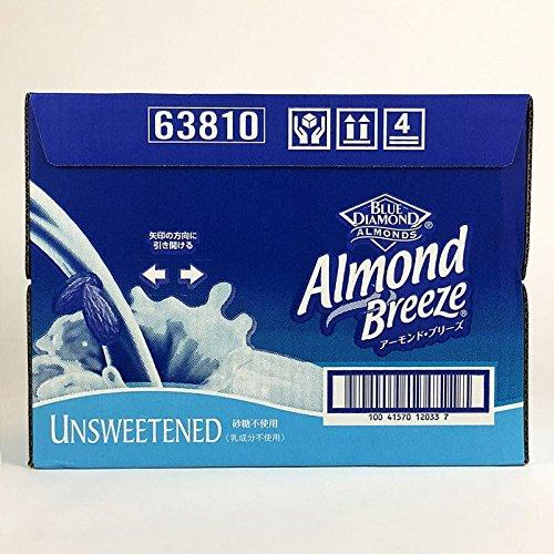 アーモンドミルク 砂糖不使用 1L入り×6本