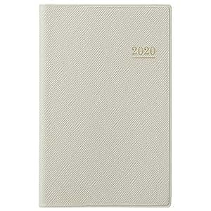 能率 NOLTY 手帳 2020年 ウィークリー ライツ メモ 小型版 グレー 1181 (2019年 12月始まり)