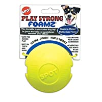 Ethical Pets 3.25インチ Play Strong Foamz ゴム製ドッグボール
