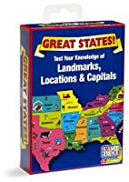 Great States Card Game by Quercetti