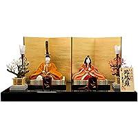 雛人形 久月 ひな人形 雛 木目込人形飾り 平飾り 親王飾り 真多呂作 瑞鳳雛 正絹有職 伝統的工芸品 h303-k-90348 K-92