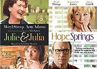 Just Meryl Streepin' Movie Collection - Julie & Julia + Hope Springs DVD Movies Film Set【DVD】 [並行輸入品]