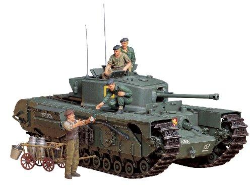 1 / 35 Tamiya No.210 britische Infanterie-Panzer Churchill Mk.VII 35210