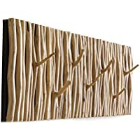Fly At The Entrance Porch壁パーソナリティクリエイティブ個性にリンクされ壁Hangingコートラック壁木製ツリー杈北欧ハンガー服フック