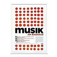 JIG アートポスター デザイナーズ コレクション バウハウス Musik am Bauhaus2 IBH-70044