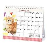 アートプリントジャパン 2020年 仔猫(卓上)カレンダー vol.019 1000109228
