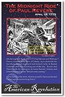 アメリカ革命: The Midnight Ride of Paul Revere、教室ポスター