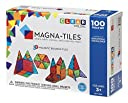 Magna-Tiles マグネットブロックセット 100ピース 組み立て おもちゃ 知育玩具 磁石 知育 立体 パズル 並行輸入品