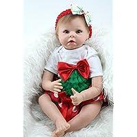 Real LifeダミーCollectibleガールRebornベビー人形22インチ子供クリスマスギフトおもちゃ