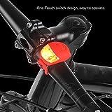 自転車 フロント/リアLED警告灯 セーフティライト 3モード 装着簡単 事故防止 夜間対応 安全 警告灯 4色