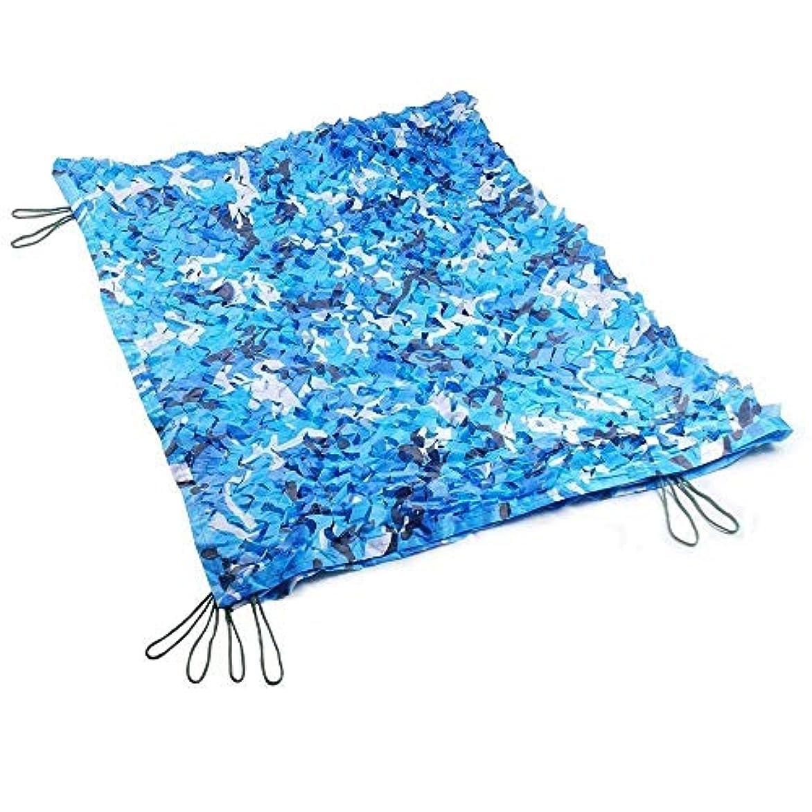 器官義務づけるハーフDGLIYJ オーシャンブルーの迷彩の網は学校のプールの装飾の陰の網に使用することができます (サイズ さいず : 4x10m)