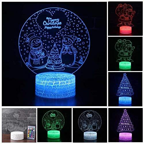 イルミネーション ナイトライト 3D LED ランプ照明 可...