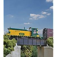 30 ' single-track Railroad Through Girder Bridge – -キット – 4 – 7 / 32 x 2 – 3 / 8 x 1