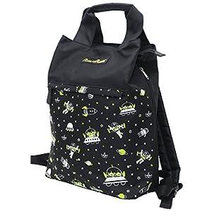 クーザ マザーズバッグ リュックタイプ エイリアン DMB-4502K リュックでもトートでも使える大容量2wayバッグ