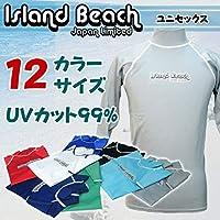 islandbeach アイランドビーチ メンズ・レディース ラッシュガード 長袖 IB0074