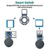 ELTD Echo Dot 2 / home mini 壁掛けホルダー amazon echo dot 2 / google home mini保護ホルダー スタンド 小型 スピーカーホルダー ステレオーラック