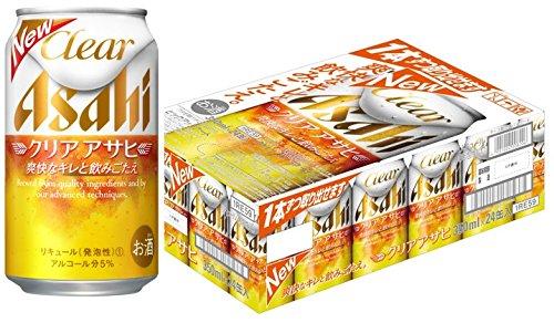 アサヒ クリアアサヒ 350ml缶×24本
