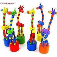 Kaluo 子供用 かわいいクリエイティブなアニメ 動物 立ち上がる キリン 発達玩具 (1個)