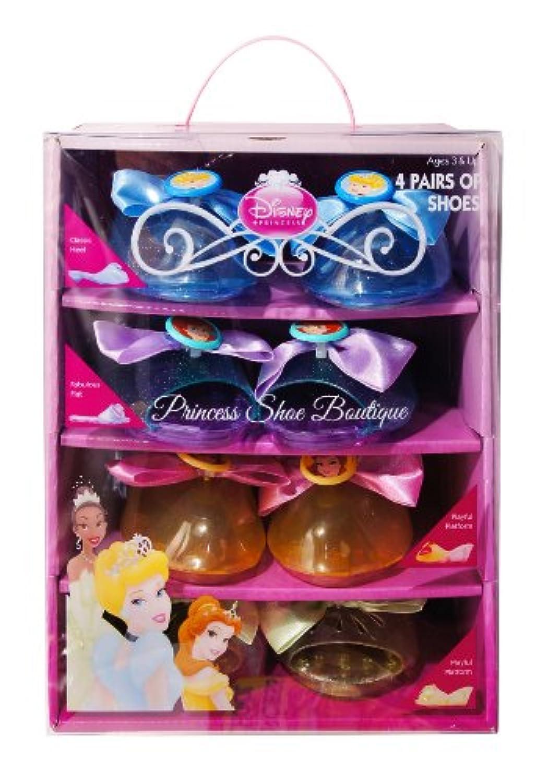 シンデレラ 靴 ディズニー プリンセス おしゃれ 子供用 シューズ 靴 4足 セット アリエル シンデレラ ベル ティアナ ギフト