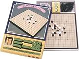 2ツ折ミニ盤シリーズ マグネチック・キャリングタイプ(駒ケース付) ミニ盤 碁(連珠用)