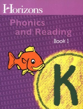 Download Horizons K Phonics and Reading Book 1 (Lifepac) 0740301373