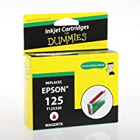 Ink for Dummies T1253 Inkjet Cartridge, Magenta [並行輸入品]