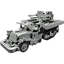 【PDF説明書データ】 米軍M3 USハーフトラック 対空砲搭載型 Halftruck AA Version LEGO レゴ カスタムモデル ミリタリー 戦車 アメリカ軍