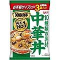 DONBURI亭 3食パック 中華丼 160g×3食 グリコ
