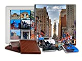 DAチョコレートキャンディスーベニア フィラデルフィア チョコレートギフトセット13x13cm 1箱 (グレー)