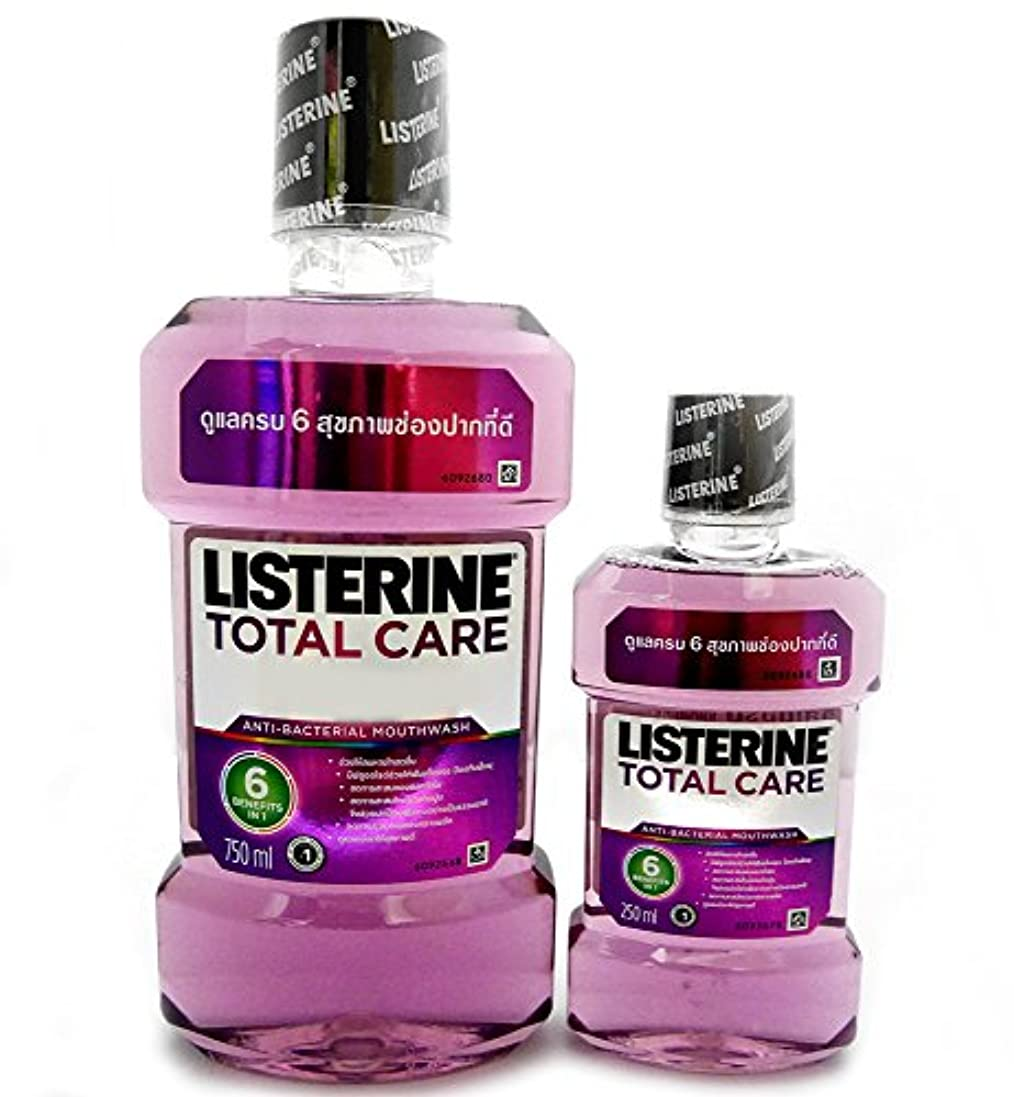 スタイル信じられないロッジ(リステリン)LISTERINE トータルケア No.6 大容量 1000ml ( 750ml + 250ml ) 紫 パープル
