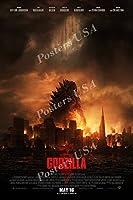 """ポスターUSA–Godzilla光沢仕上げ映画ポスター–fil436 24"""" x 36"""" (61cm x 91.5cm)"""