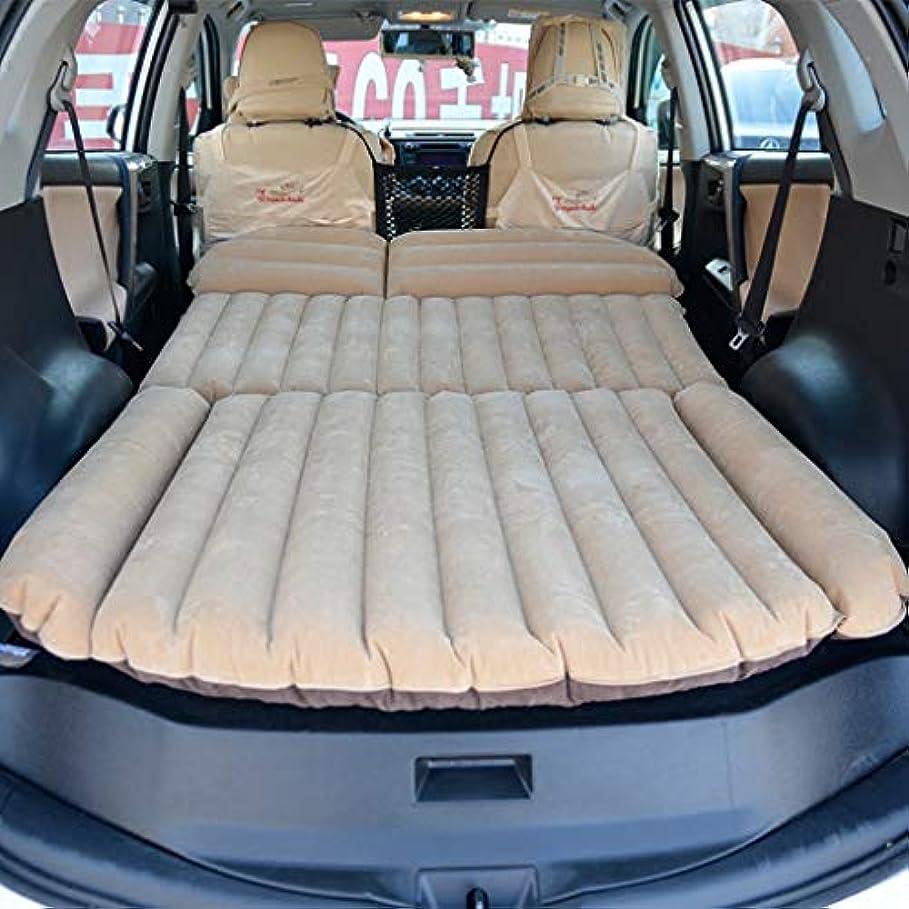 ビン穴閉じる頑丈なSUVのairbed、屋外旅行キャンプのための車のエアベッドの性のベッドのクイーンサイズの倍の膨脹可能な問題、負荷300kg、190×119×20cm