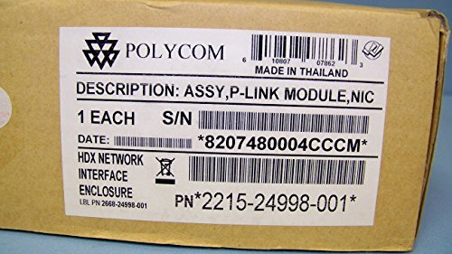 Polycom 2215–24998–001HDXネットワークインタフェースp-linkモジュール、NICエンクロージャ