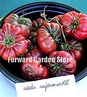 !販売ガーデン家宝チェロキーひだトマト盆栽、100個、ファンタスティック食用植物メキシコの家宝のための家の庭の植物:6