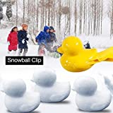 雪玉づくり 雪合戦 外遊び スノーボール 雪だま製造機 雪遊びに おもちゃ 親子ゲーム 家族や友人(1個)