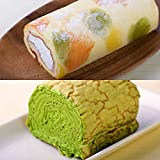 生クリームが自慢の京都錦ろーる と ミルクレープロールの抹茶のセット
