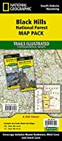 National Geographic Trails Illustrated Black Hills National Forest Map Pack South Dakota, Wyoming (National Geographic Trails Illustrated Maps)